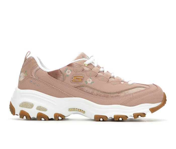 Women's Skechers D'Lites Rose Blooms 13084 Sneakers