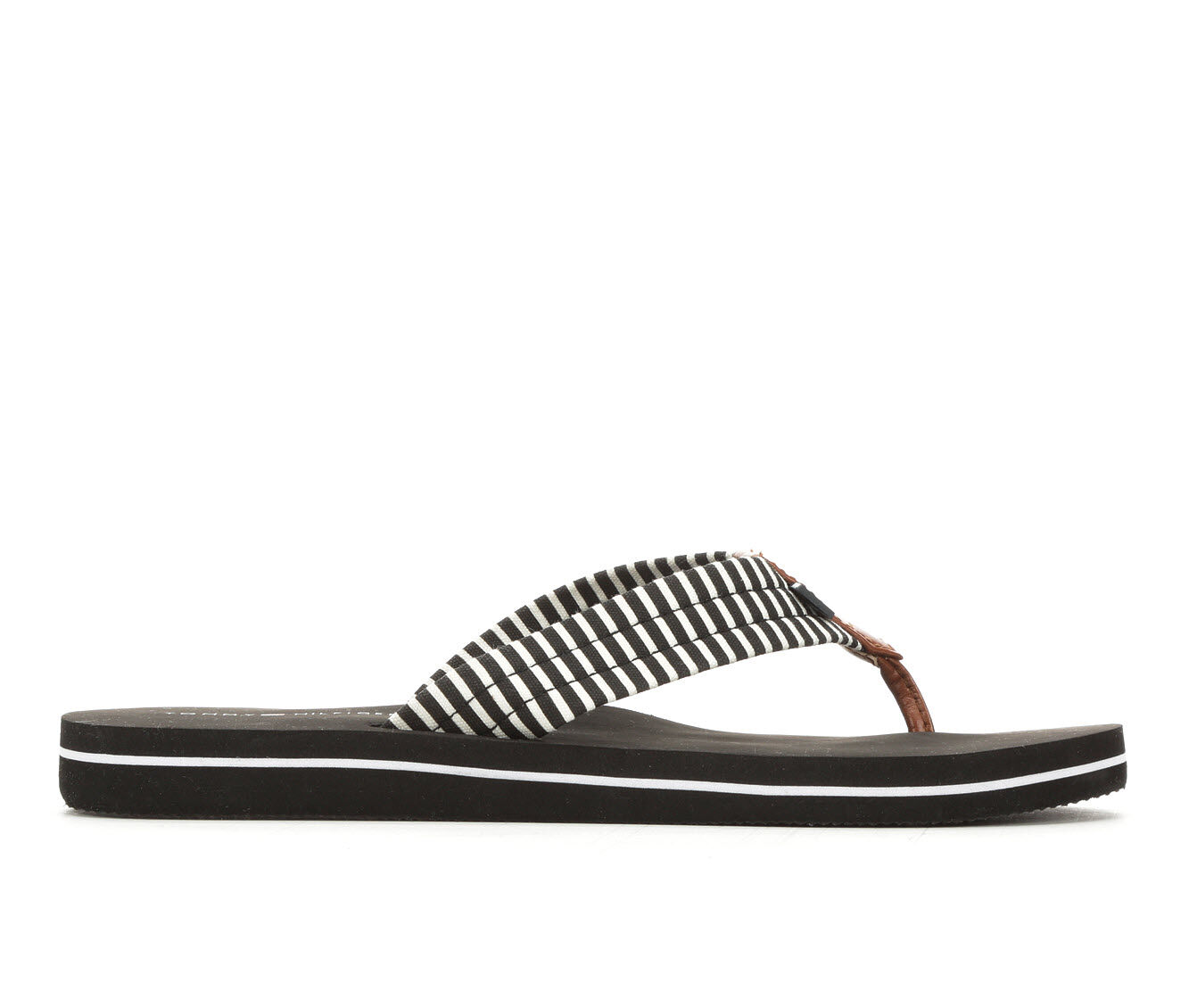 Women's Tommy Hilfiger Craft Sandals Black Multi