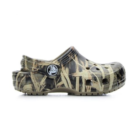 Boys' Crocs Infant Classic Realtree 4-10 Clogs