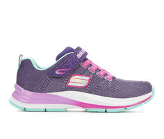 Girls' Skechers Little Kid & Big Kid Double Strides Duo Dash Light-Up Sneakers