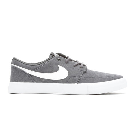 Men's Nike Portmore II Solar Canvas Premium Skate Shoes
