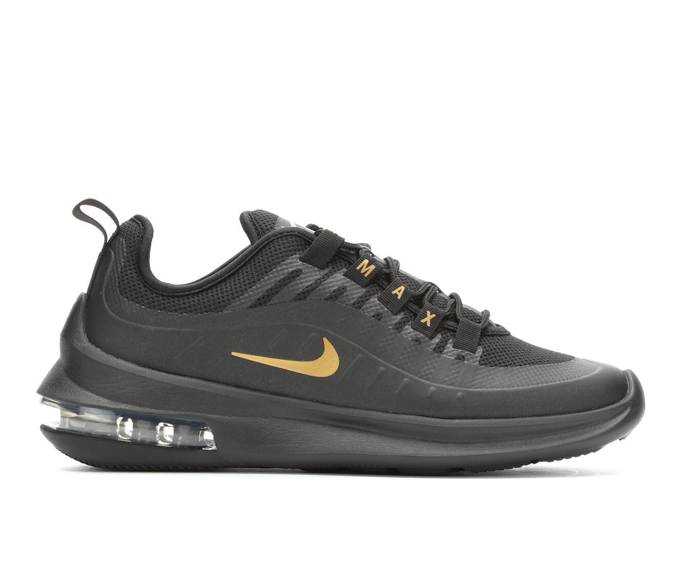 Women's Nike Air Max Axis Running Shoes Black/Met Gold