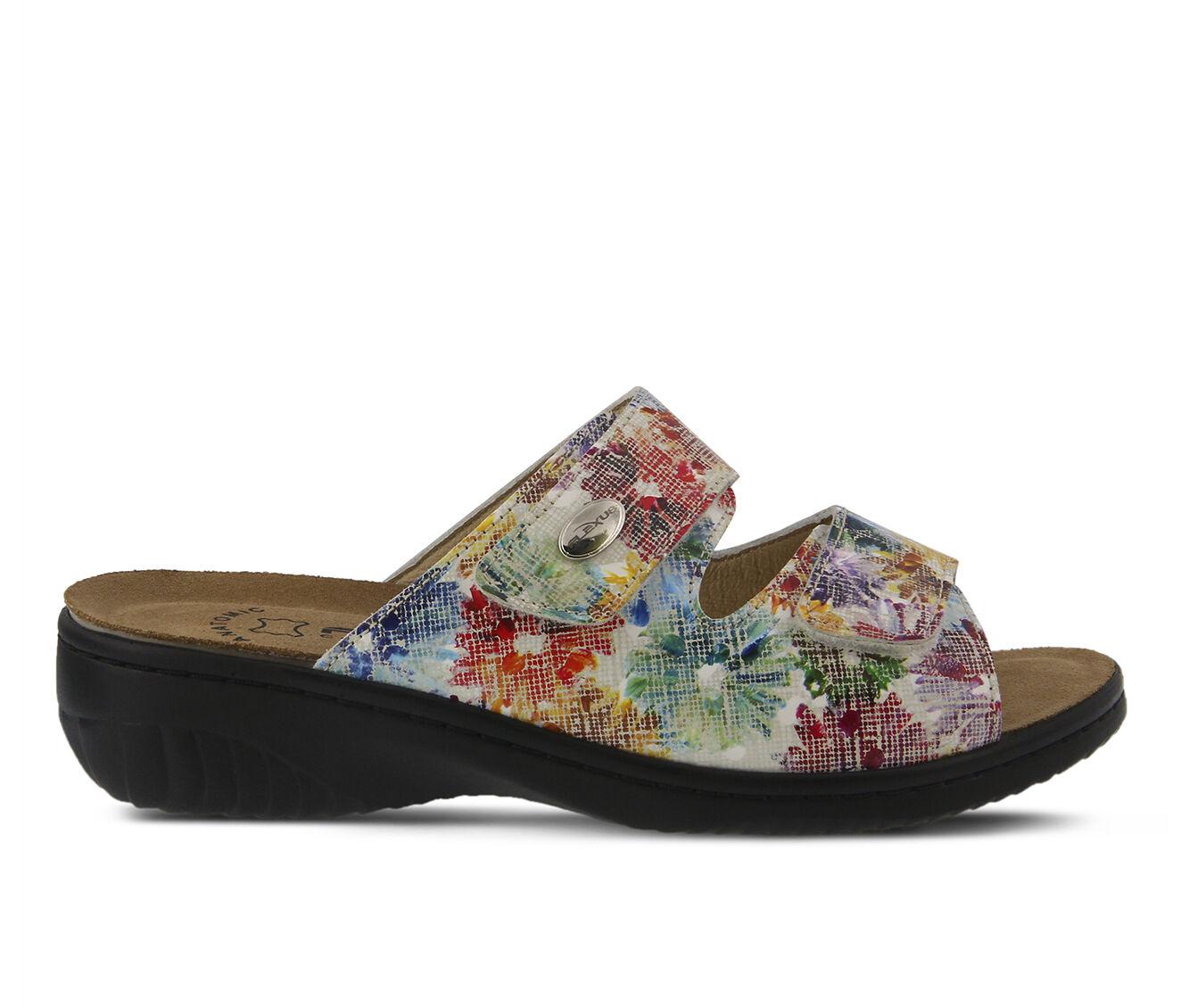 Women's FLEXUS Bellasa Sandals White Multi