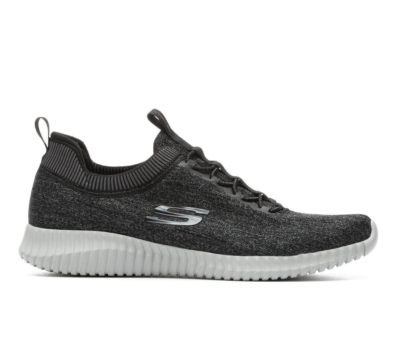 Men's Skechers Hartnell 52642 Slip-On Sneakers Black/Grey/Wht
