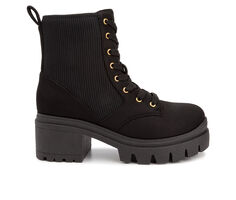 Women's Sugar Control Platform Lace-Up Boots