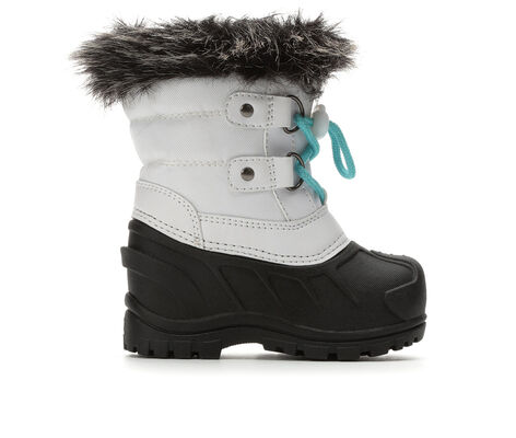 Girls' Itasca Sonoma Infant Icy White 5-10 Winter Boots