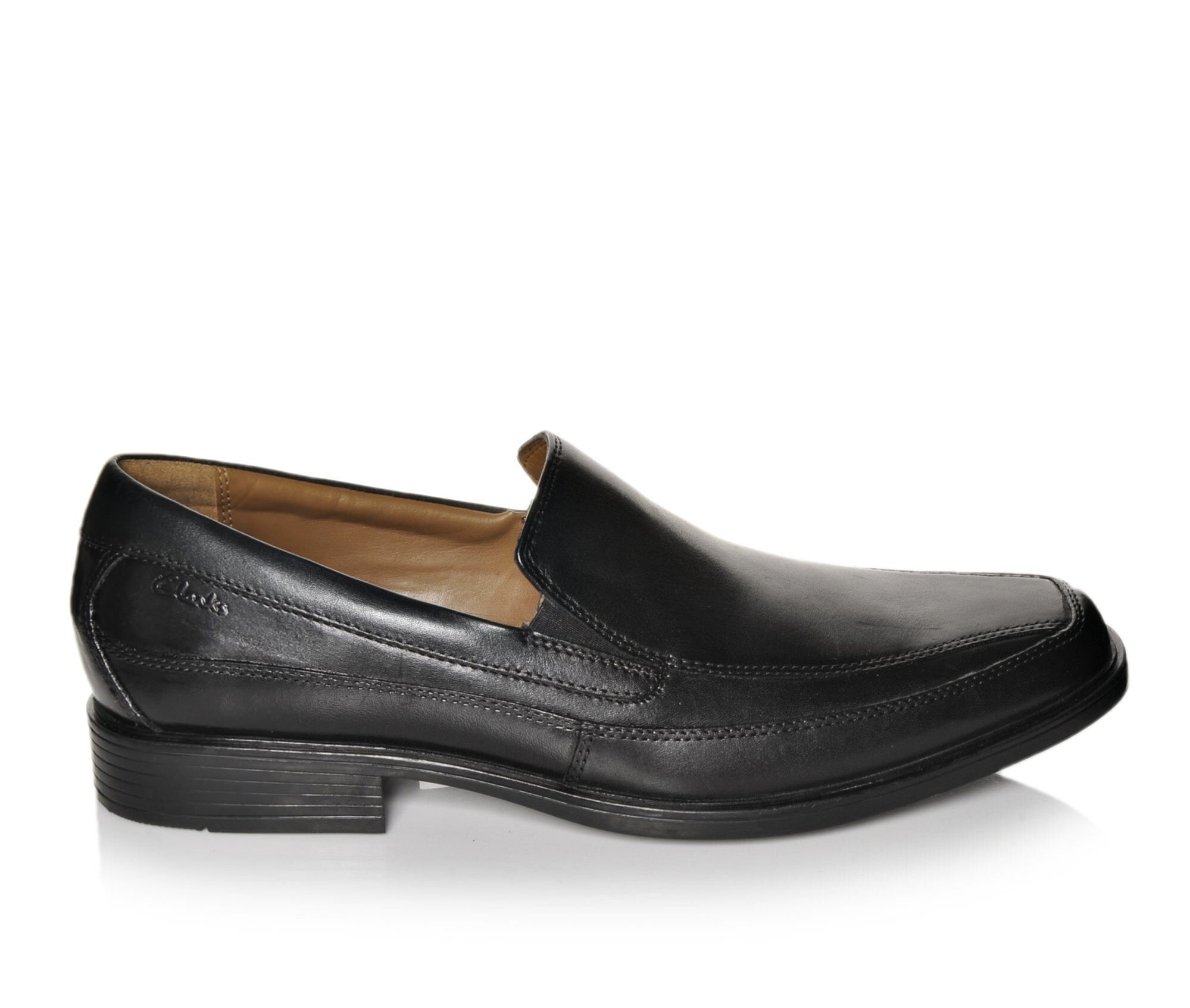 Men's Clarks Tilden Free Dress Shoes Black