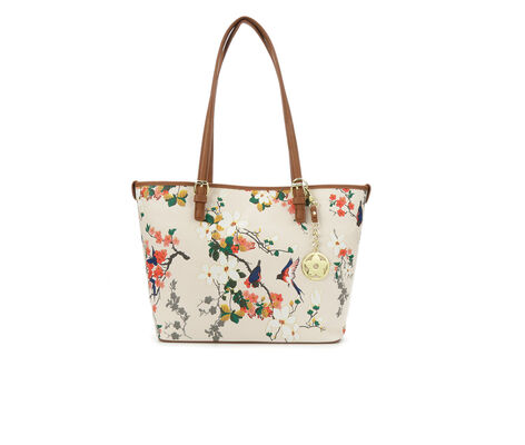 Bueno Of California Tote w/Fob Handbag