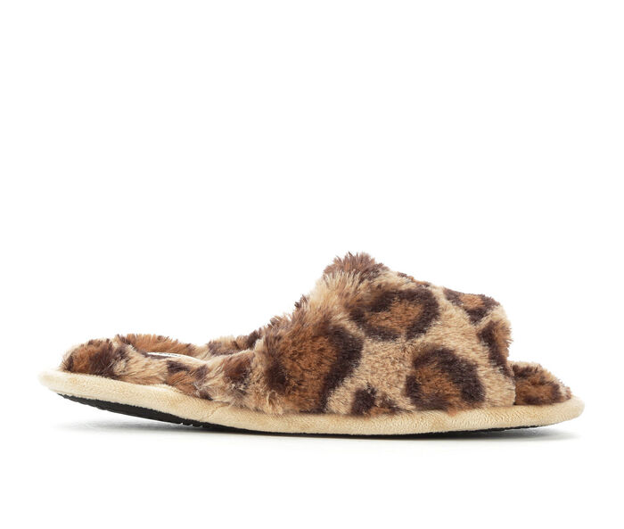 Dearfoams Cindy Furry Slide Slippers