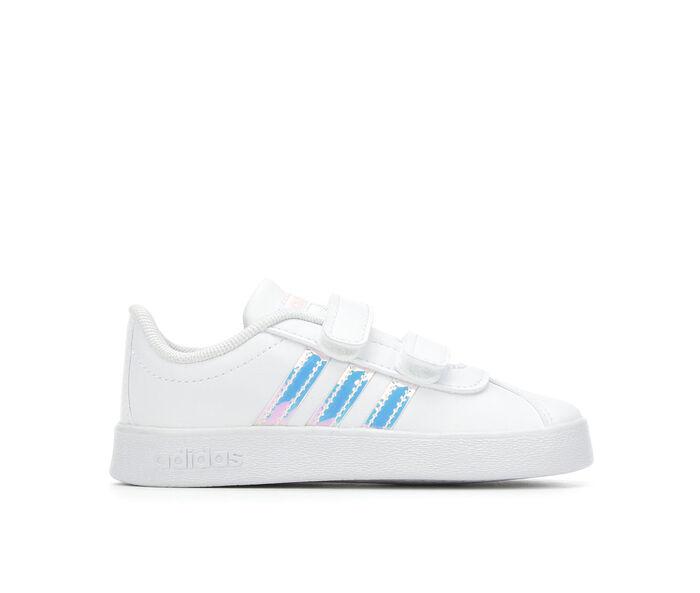 Girls' Adidas Infant & Toddler VL Court 2.0 Athletic Shoes