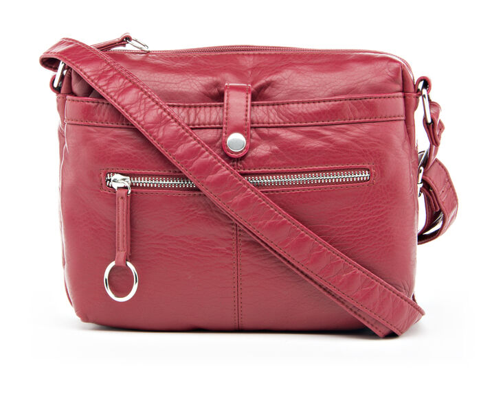 Bueno Of California Grained Washed Crossbody Handbag