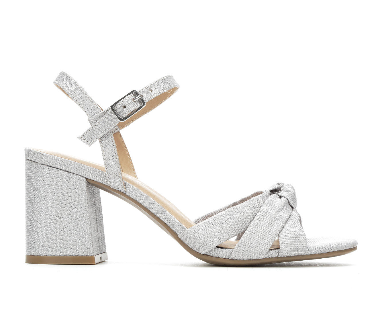 Women's Jellypop Lana Dress Sandals Silver Metallic
