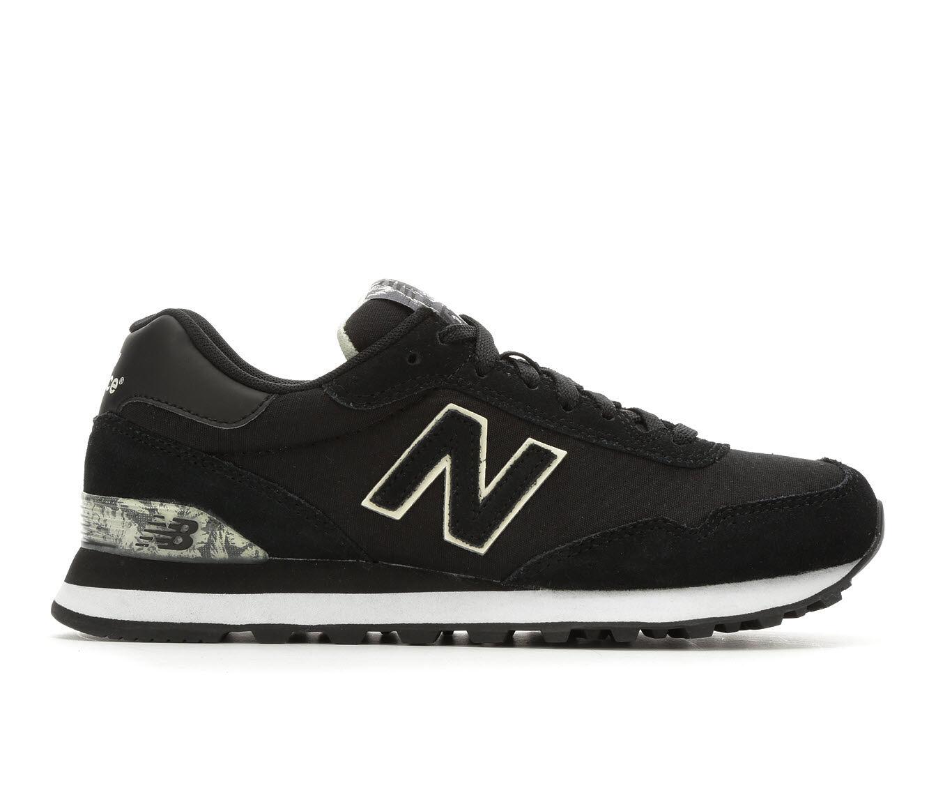 shop authentic new arrivals Women's New Balance WL515 Retro Sneakers Blk/Buttermilk