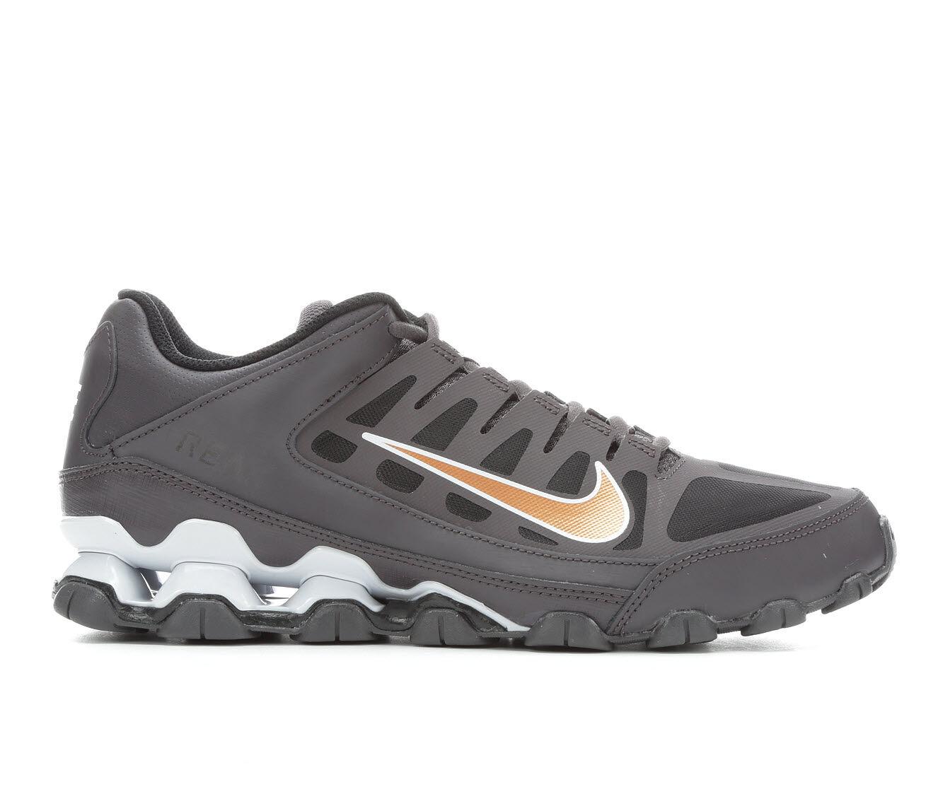 Men's Nike Reax 8 TR Mesh Training Shoes Dark Grey/ Gold