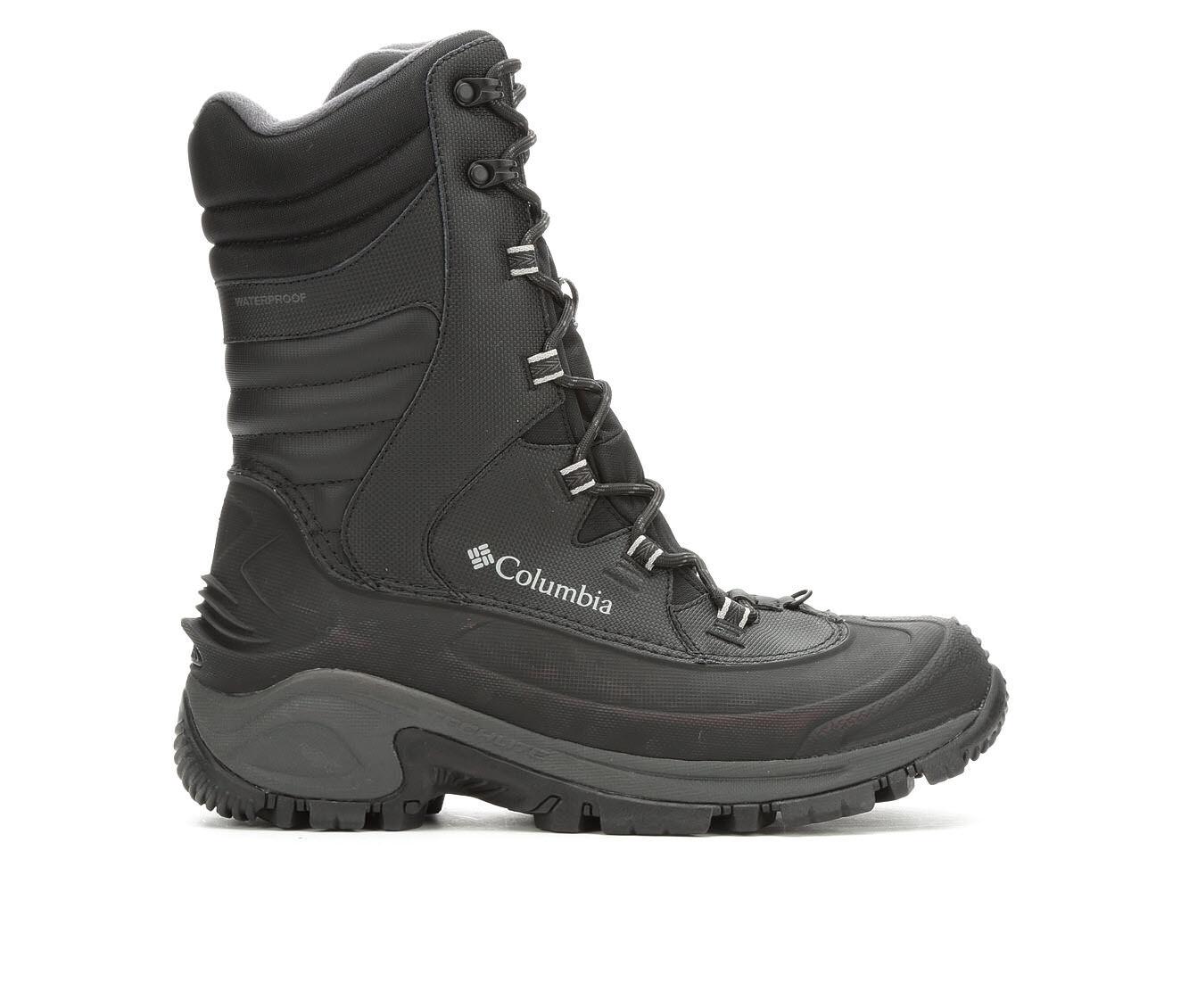 Men's Columbia Bugaboot III XTM Winter Boots Black/Charcoal