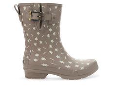 Women's Chooka Ditsy Daisy Mid Rain Boots