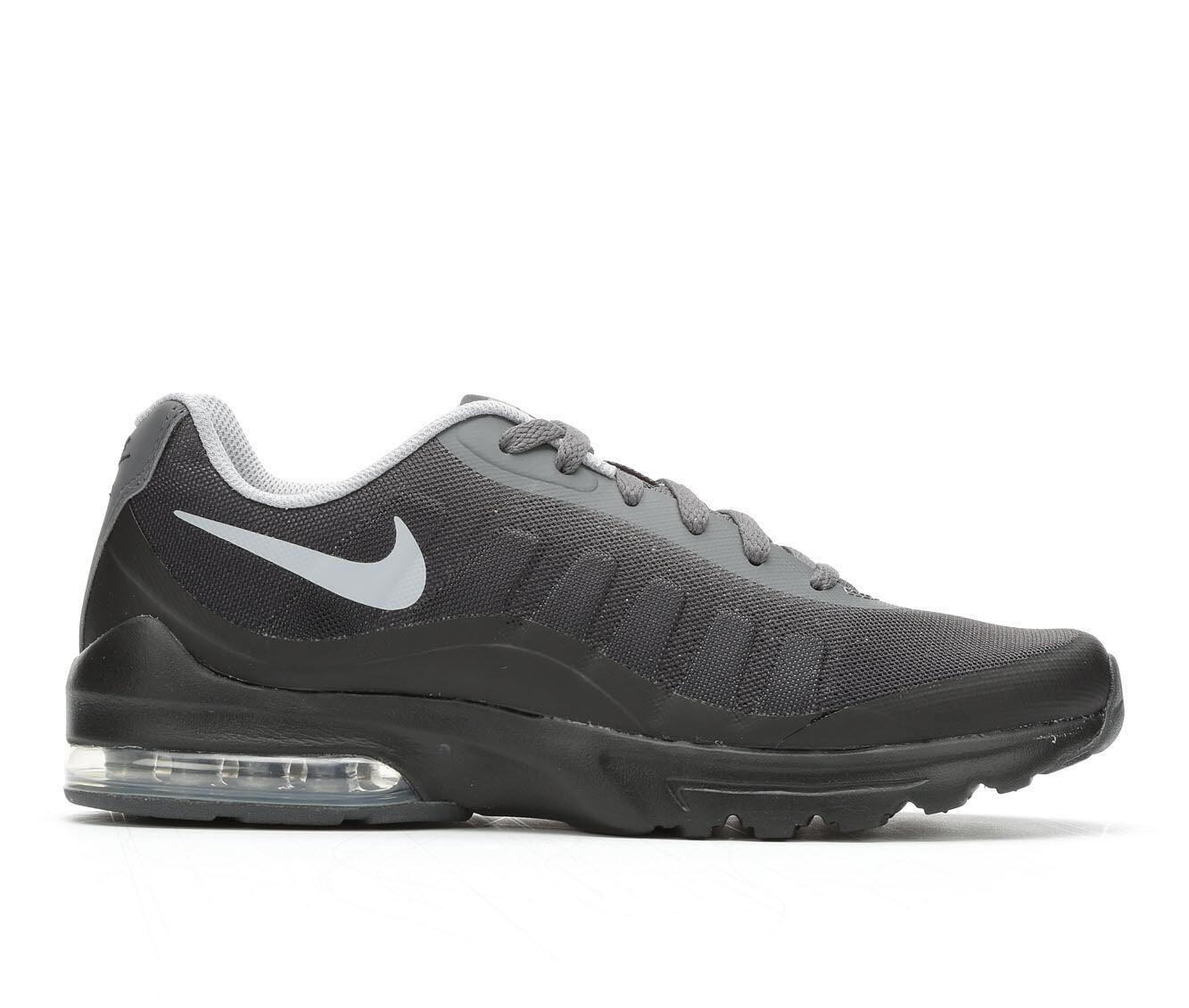 Men's Nike Air Max Invigor Print Athletic Sneakers Black/Grey 005