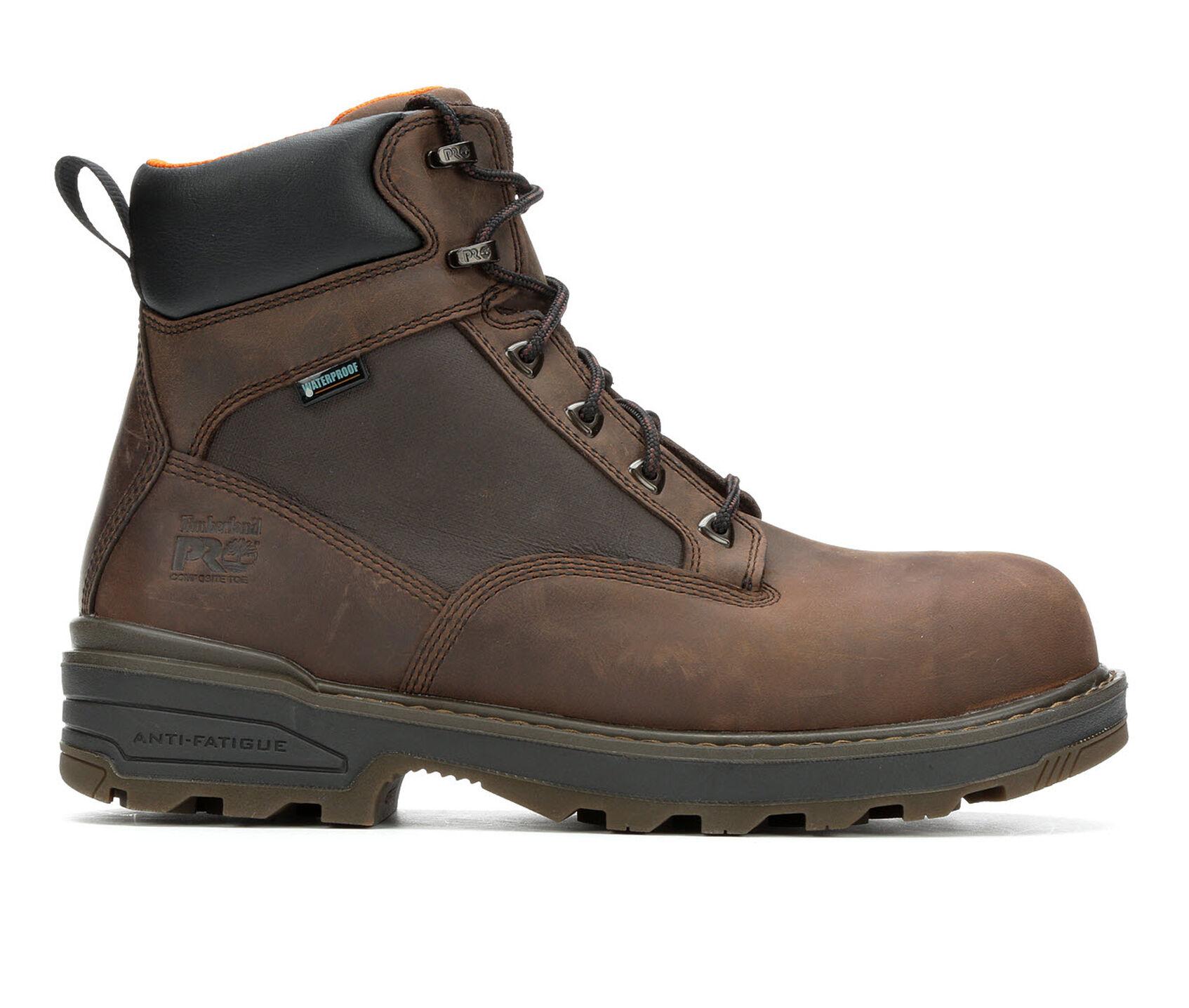 524289cec75 Men's Timberland Pro Resistor A121S Composite Toe Waterproof Work Boots