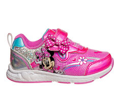 Girls' Disney Toddler & Little Kid CH88808C Minnie Mouse Light-Up Sneakers