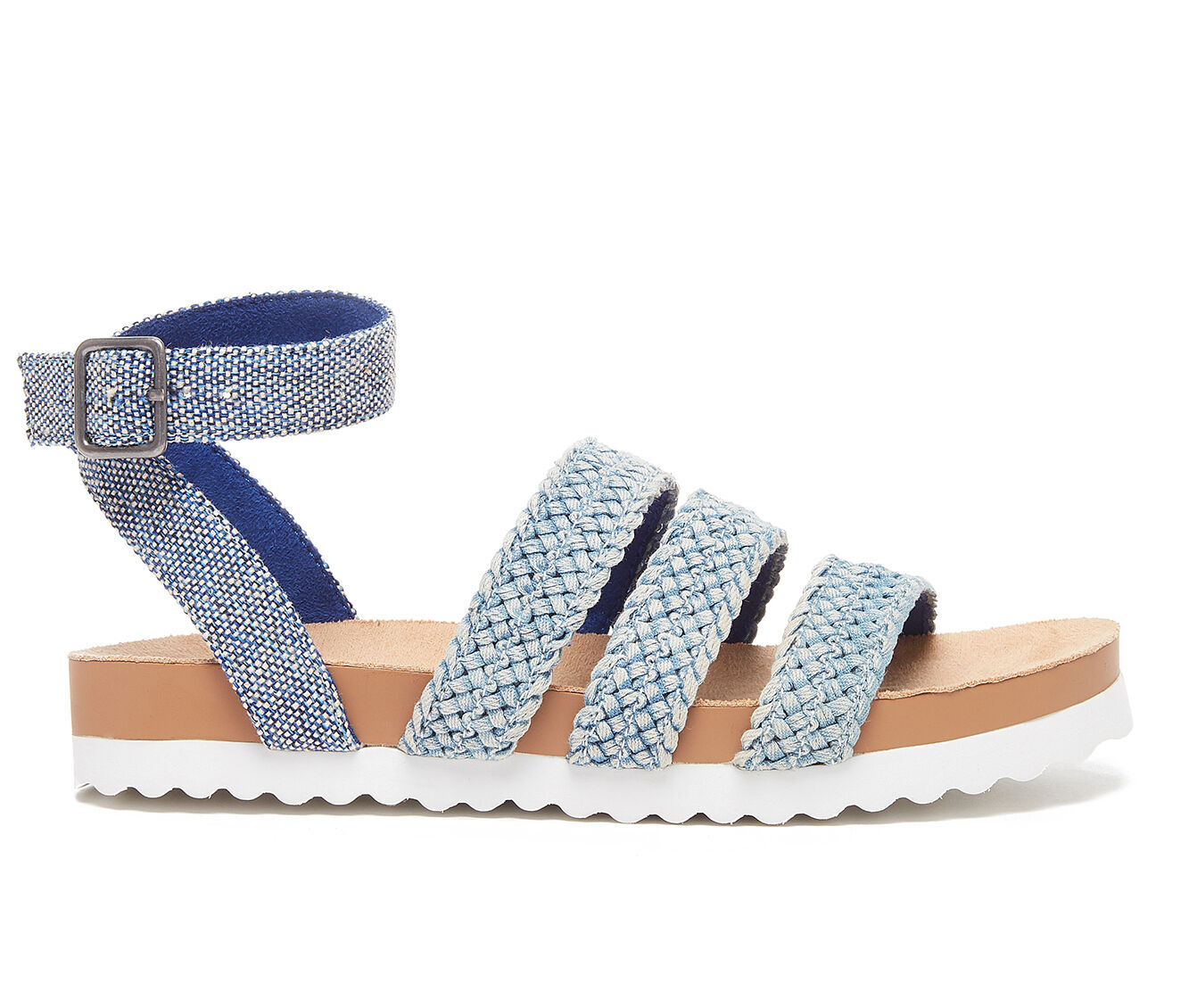 Women's Rocket Dog Leysa Flatform Sandals Blue