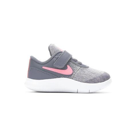 Girls' Nike Infant Flex Contact Velcro Running Shoes