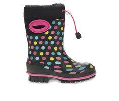 Girls' Western Chief Little Kid & Big Kid Rainbow Dot Rain Boots