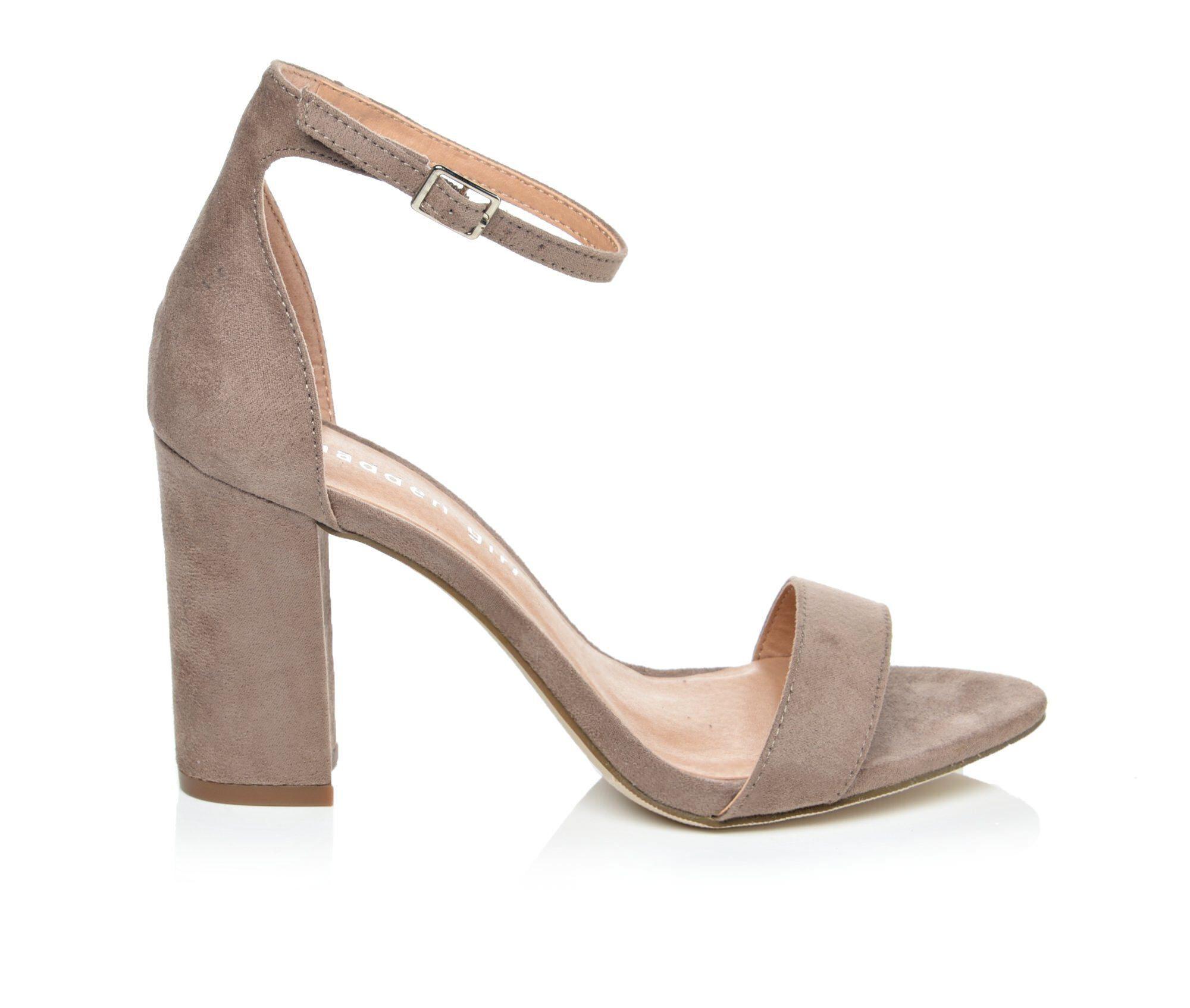 Bone colored dress sandals