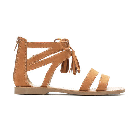 Girls' Makalu Menlos 11-5 Tasseled Gladiator Sandals