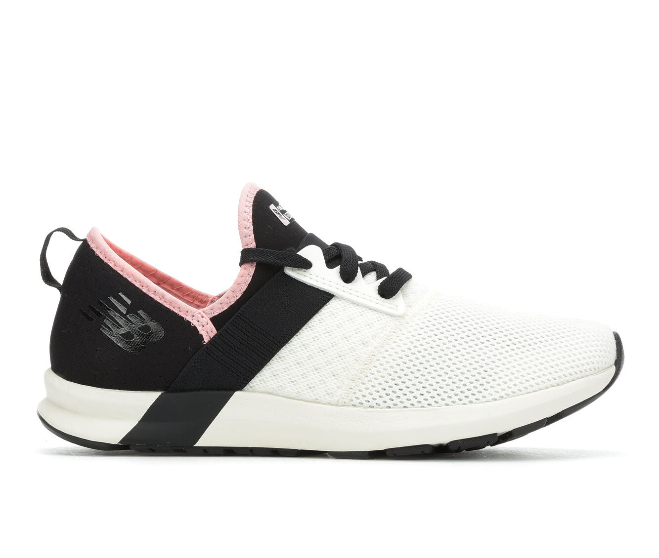Women's New Balance FuelCore Nergize Sneakers White/Black/Pnk