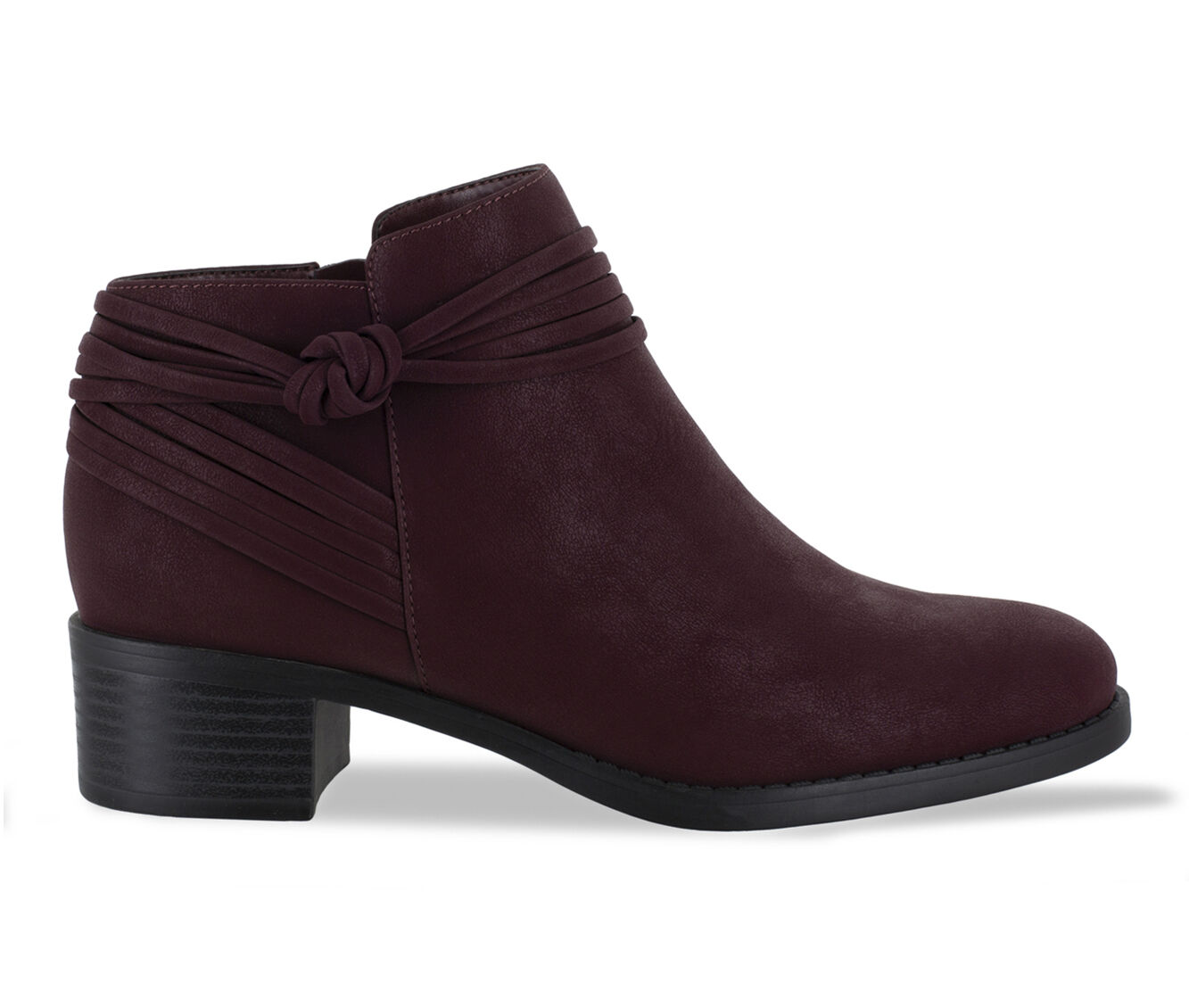 free shipping Women's Easy Street Wylie Booties Burgundy