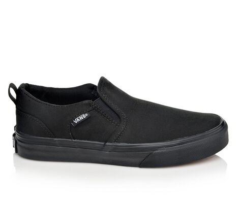 Boys' Vans Asher 10.5-7 Skate Shoes