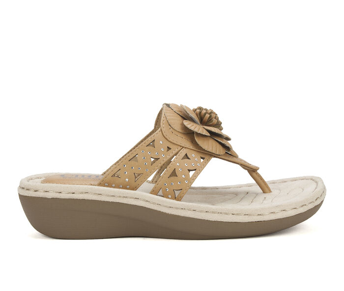 Women's Cliffs Cynthia Wedge Flip-Flops