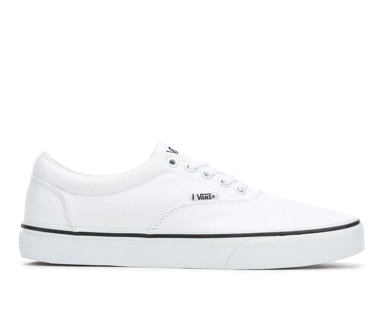 Men's Vans Doheny Skate Shoes White/White