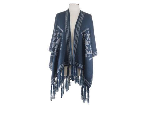 Jessica Simpson Aztec Knit Ruana