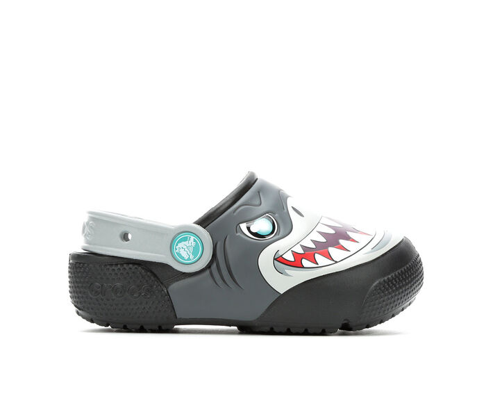 Boys' Crocs Little KId Funlab Sharks Clogs