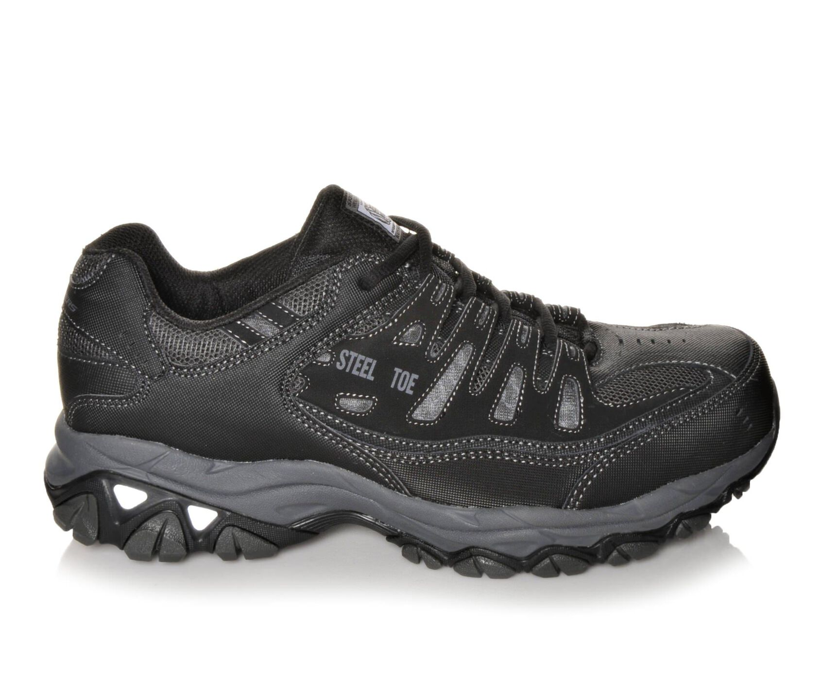 Men 39 S Skechers Work 77055 Cankton Shoes