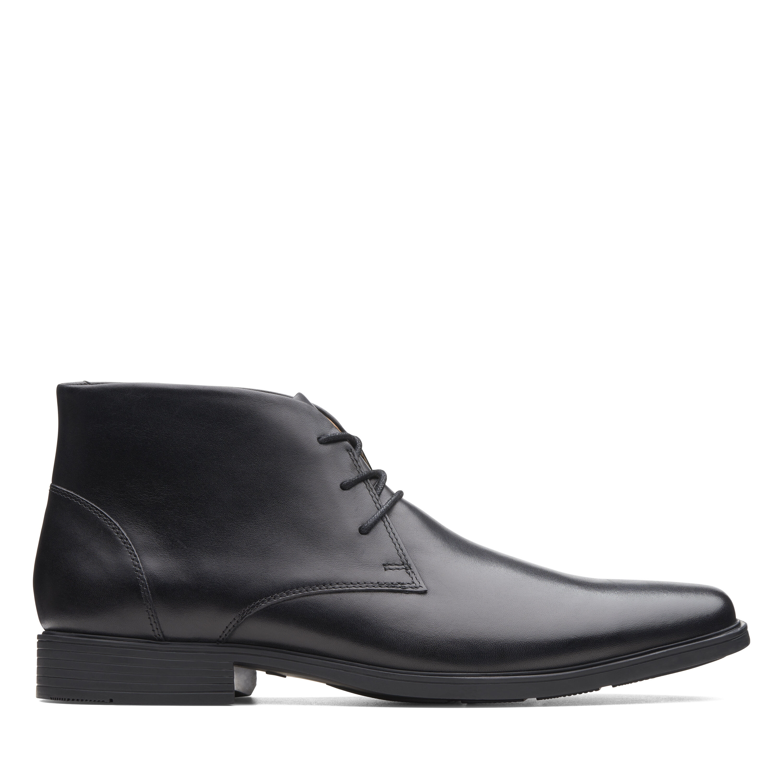 Men's Clarks Tilden Top Dress Shoes Black