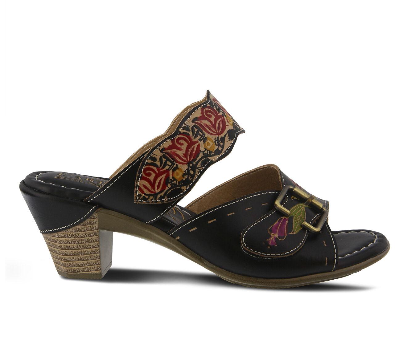 Women's L'ARTISTE Ozuna Dress Sandals Black