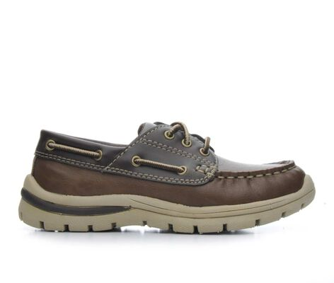 Boys' Anchors Edge Bay Ash 11-7 Boat Shoes