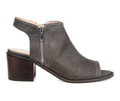 Women's Journee Collection Tibella Peep Toe Booties