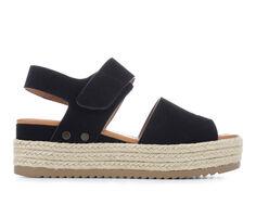 Women's Soda Blast Flatform Sandals
