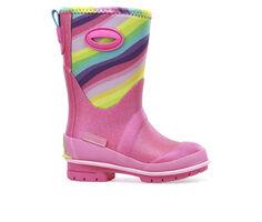 Girls' Western Chief Little Kid & Big Kid Glitter Rainbow Rain Boots