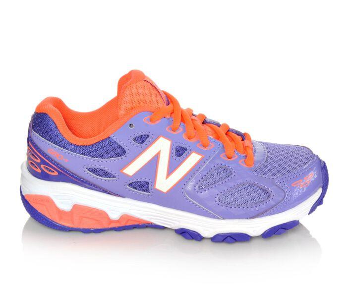 Girls' New Balance KR680PCY 10.5-7 Girls Running Shoes
