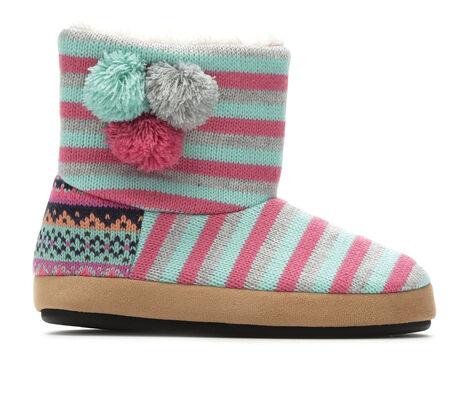 Girls' Dearfoams Patterned Sweater Knit Bootie