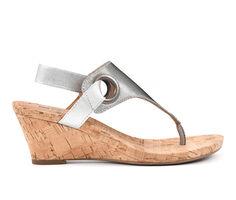 Women's White Mountain Aida Wedge Sandals