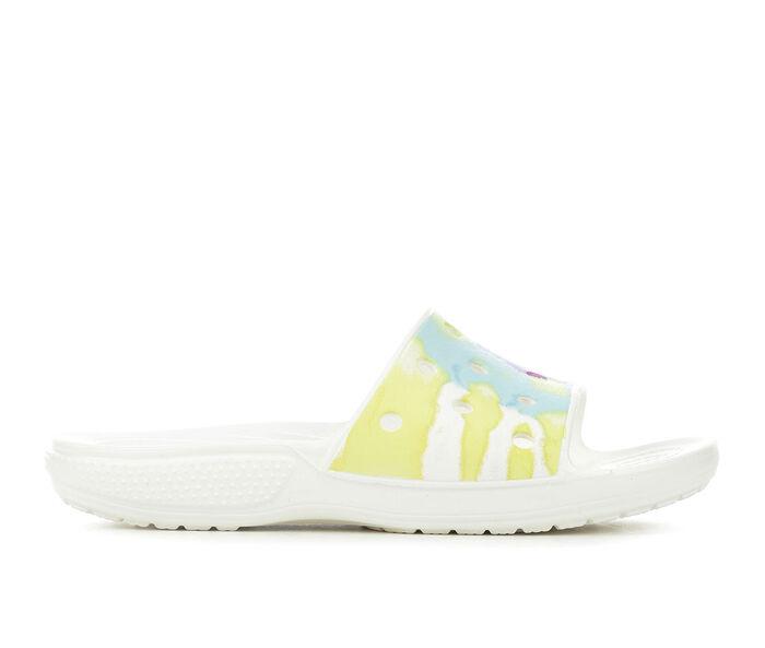 Adults' Crocs Classic Tie Dye Slide Sandals