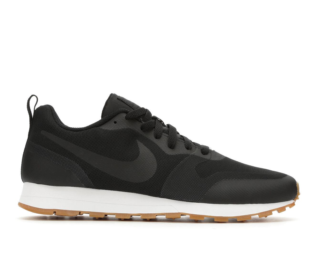Men's Nike MD Runner 2 19 Sneakers Blk/Wht/Gum 001