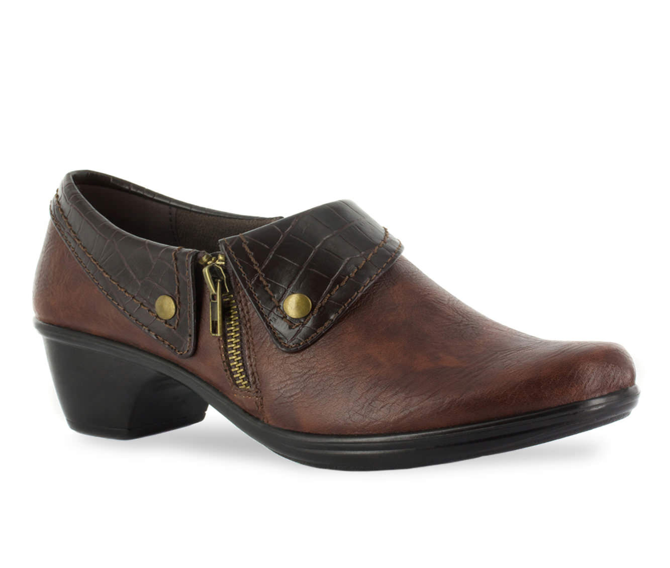 lowest price guarantee Women's Easy Street Darcy Shoes Tan/Br Croco