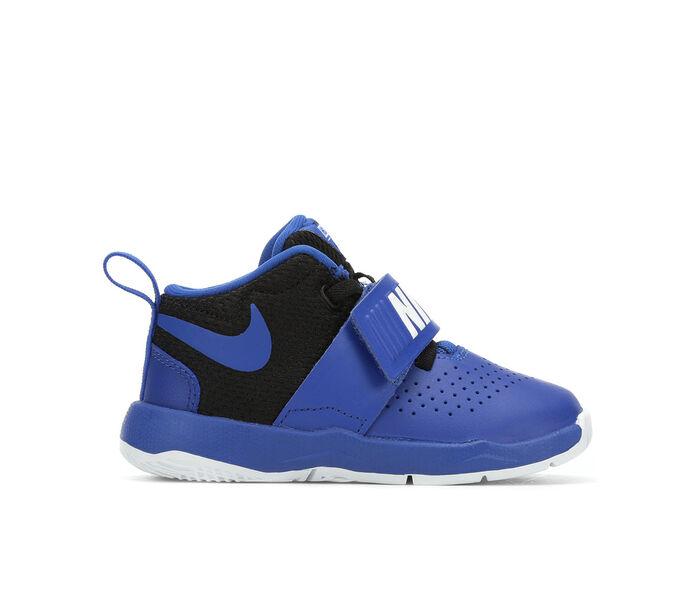 Boys' Nike Infant & Toddler Team Hustle D8 High Top Basketball Shoes