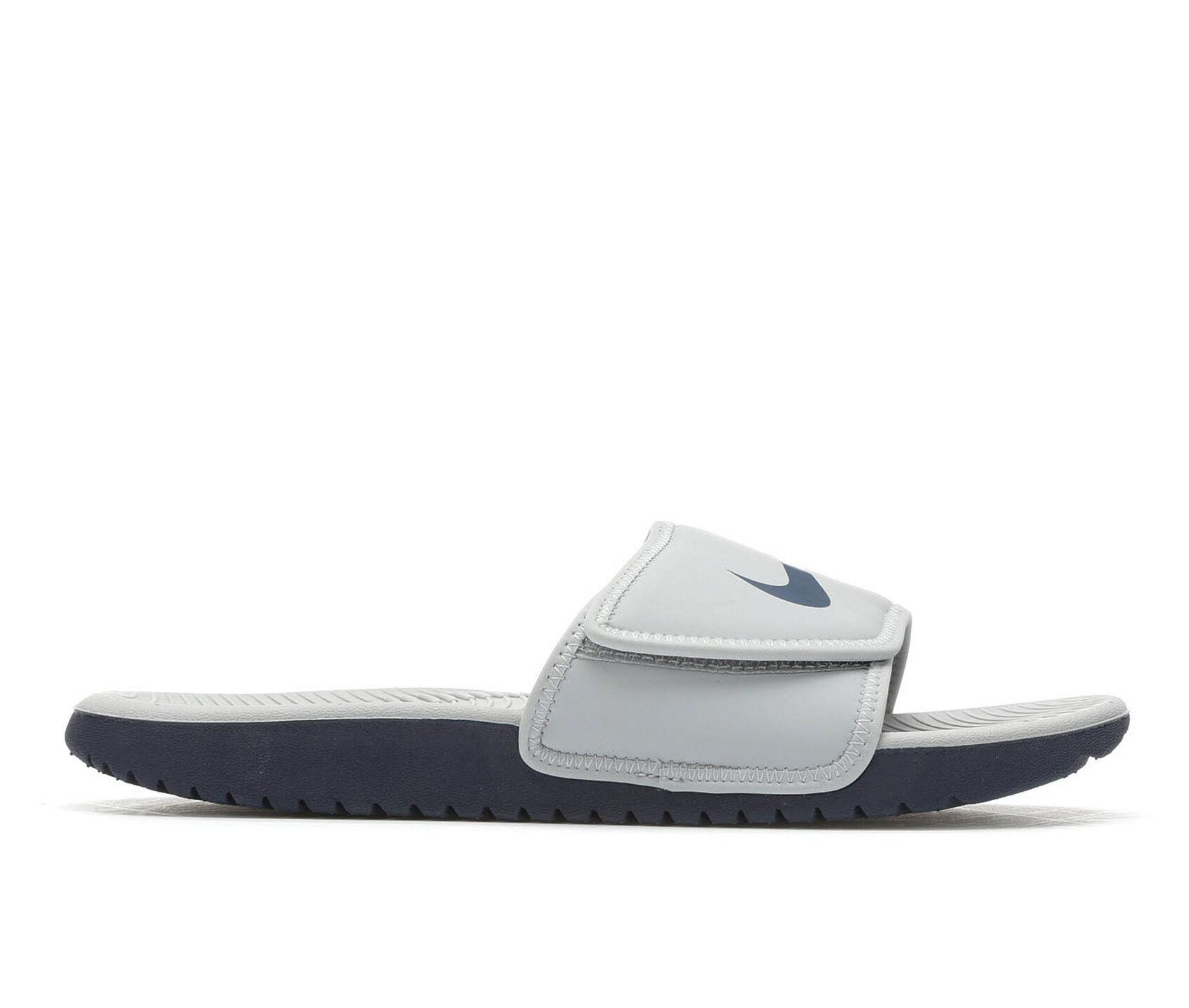 5bada66f8328 Boys  Nike Little Kid   Big Kid Kawa Adjust Sport Slides
